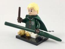 Légo 71022 Minifig Figurine Série Harry Potter - Draco Malfoy + socle + fiche