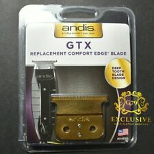 ANDIS T-OUTLINER GTX DEEP-TOOTH REPLACEMENT BLADE #04850 GOLD PLATED 24k