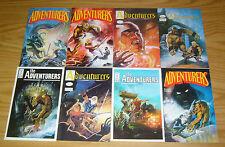 Adventurers #0 & 1-10 VF/NM complete series + variant PETER HSU comics set