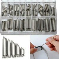 360pcs Alloy Watch Band Spring Bars Strap Link Pins 8-25mm Repair Kit Useful