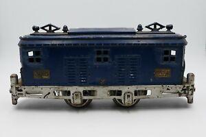 Vintage American Flyer Lines Prewar O Gauge #3015 Blue Box Cab Model Train Car