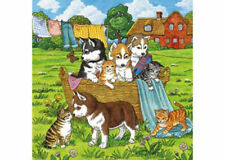 Ravensburger Cats And Dogs 3 x 49 Piece Jigsaw Puzzles RB08002-1