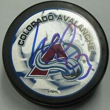 MILAN HEJDUK signed COLORADO AVALANCHE PUCK! MAKE OFFER! 1001905