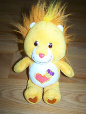 "9"" Brave Heart Lion Care Bear Cousin Bean Bag Plush Toy 2003 Stuffed Animal EUC"