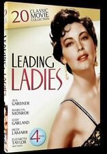 DVD Movie - LEADING LADIES 20 Classic Movie Collection - As New - Region 4