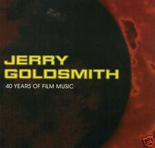 Jerry Goldsmith - 40 Years Of Film Music 4 CD Set