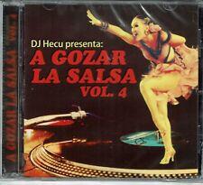 DJ Hecu Presenta  A Gozar La Salsa Vol 4   BRAND  NEW SEALED  CD