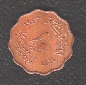 EGYPT 10 MILLEM 1943
