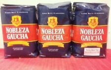 YERBA MATE NOBLEZA GAUCHA - THREE PACK  2.2. LBS or 3 Kilos.