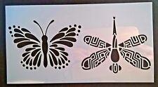 Butterfly Dragonfly Wall Stencil Reusable Template Home Decor Mask Scrapbook Art