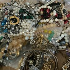 Vintage To Modern Costume Jewelry Lot For Wear Repair Craft gallon bag monet