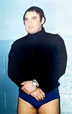 "CHRIS TOLOS Original Pro Wrestling Photo Rare Image 4 x 6""  Vtg NWA In Ring"