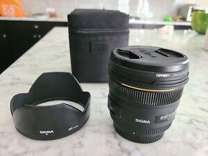 MINT CANON SIGMA 50mm F1.4 1:1.4 EX DG HSM AF Lens for Canon EF MOUNT