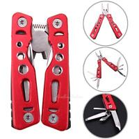 Stainless Steel Foldable Multi Purpose Outdoor Survival Travel Tool Pliers Knife