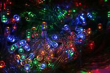 1200 LED 8 Modes Christmas Xmas Tree Fairy String Lights Outdoor Indoor UK Plug