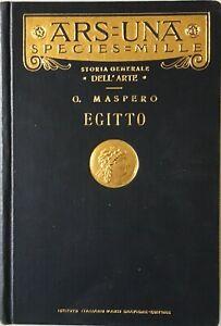Gaston Maspero - L'arte in Egitto [Istituto Italiano Arti Grafiche Bergamo 1929]