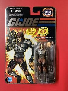 GI Joe 25th Zartan Color Changing Face Variant Foil Packaging 25th Anniversary