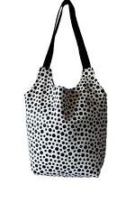 Tasche/Shopper/tote bag/Einkaufstasche/Umhängetasche /Lunchtasche_polka dot_hand