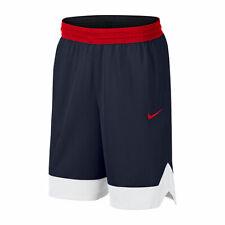 NWT Mens NIKE Big & Tall Dri-Fit Basketball Shorts Blue Red White