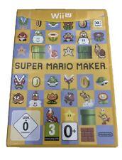 Super Mario Maker Nintendo Wii U UK PAL