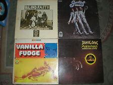 Atco Records-Lot of 6 Rock LPs-Cream-Iron Butterfly-Blind Faith-Vanilla Fudge