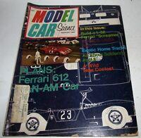 Model Car Science Magazine, September 1969, Build the 1/32 Ferrari 312, HO Track
