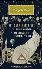 His Dark Materials: The Golden Compass, the Subtle Knife, the Amber Spyglass by Philip Pullman (Hardback)