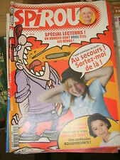 Spirou N° 3416 2003 BD Numéro spécial lecteurs Mélusine L'héritage Crannibales
