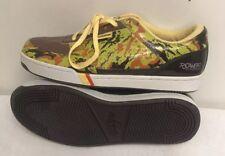 Roca Wear Pro-Keds Royal Court Brown 240 Bomb Camo Sneakers Men Size 10.5