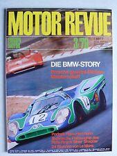Zeitschrift Motor Revue Heft 75 3.1970 mit Porsche 908/3, Bruce McLaren, BMW