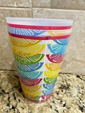 Lilly Pulitzer (2) plastic pool tumbler cups