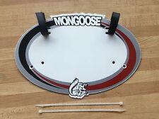 Bmx Mongoose Number Plate