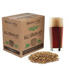 Brewolution Home Brew All Grain Refill Beer Crushed Recipe Kit Dungeon Dark Ale