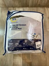 New Serta Tempa All  Seasons Warming Mattress Pad Heating Full Size