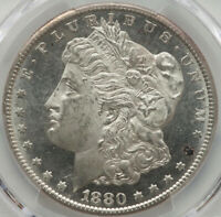 ALLURING MIRRORS 1880-S PCGS Certified $1 Morgan Silver Dollar MS64PL