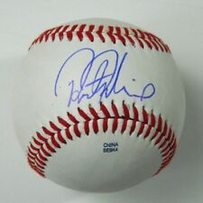 Preston Palmeiro Rafael's Son Signed Baseball Baltimore Orioles autographed