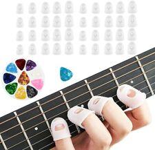 40 Pcs Guitar Fingertip Protectors, Silicone Guitar Finger Guards