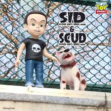 """HEROCROSS Disney Toy Story Nightmare of Toy Sid Phillips & Scud 24"""" Vinly FIgure"""