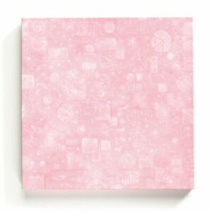 Embellish Your Story Pink Collage Magnetic Memo Board - Roeda 100771-EMB