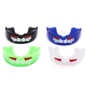 Fang Mouth Guard Gum Shield Muay Thai Boxing Football Basketball Teeth ProtR_EX