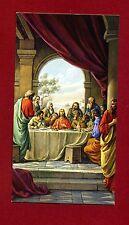 SANTINO - HOLY CARD- IMAGE PIEUSE - Heiligenbild  ULTIMA CENA