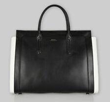Bally of Switzerland Calf Leather Designer Satchel Tote Bag - 100% Authentic