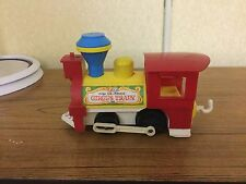 Fischer Price Circus Train 991 Engine Only 1979 Button Whistle Works