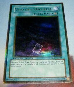 Yugioh - Velo dell'Oscurità RARA ORO - GLD2-EN043 Ed. Limitata