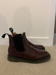 VINTAGE SOLOVAIR OXBLOOD RED CHELSEA BOOTS! SIZE 11,ENGLAND, DR MARTENS