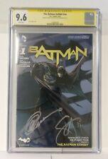 The Batman Exhibit CGC 9.6 Signture Series Greg Capullo & Scott Snyder
