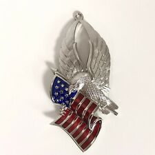 "Gorham Holiday Tradition Eagle of Liberty 4"" Silver-plated Christmas Ornament"