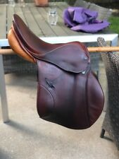 Stubben Siegfried Jumping Saddle - Size 17'' - Brown (used)