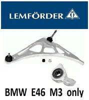 LEMFORDER BMW e46 M3 Front Left Suspension Wishbone Arm + BUSH OE (M3 ONLY)