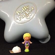 Polly Pocket Mini 1992 Fashion Fun Fairy  Stern Blau